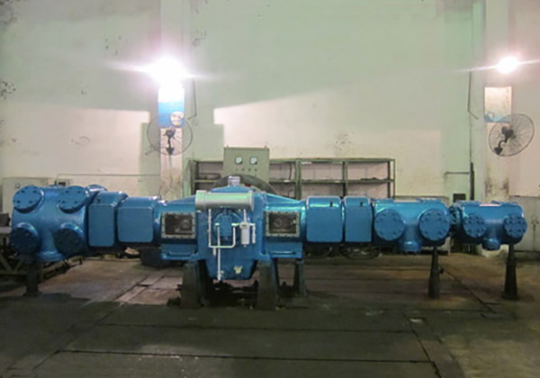 Makeup Gas Compressor