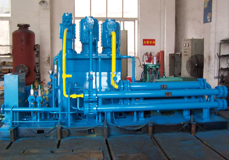 Oil-free Lubrication CNG Compressor