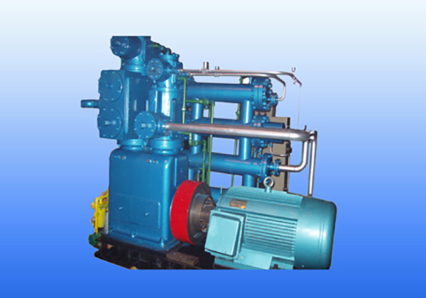 Oil-free Lubrication Hydrogen Compressor