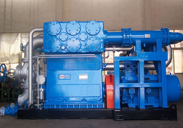 Skid-mounted Hydrogen Compressor